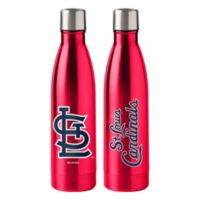 MLB St. Louis Cardinals 18 oz. Stainless Steel Water Bottle