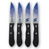 University of Kentucky 4-Piece Stainless Steel Steak Knife Set