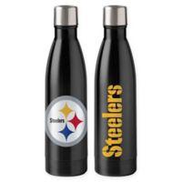 NFL Pittsburgh Steelers 18 oz. Stainless Steel Water Bottle
