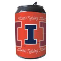 University of Illinois 11-Liter Portable Party Can Fridge