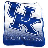 University of Kentucky Raschel Throw Blanket