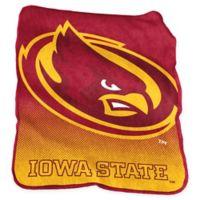 Iowa State University Raschel Throw Blanket