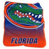 University of Florida Raschel Throw Blanket