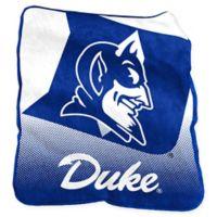 Duke University Raschel Throw Blanket