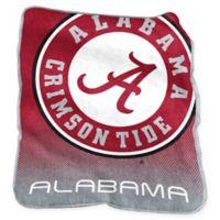 University of Alabama Raschel Throw Blanket