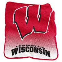 University of Wisconsin Raschel Throw Blanket