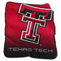 Texas Tech University Raschel Throw Blanket