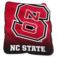 North Carolina State University Raschel Throw Blanket