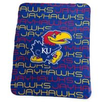 University of Kansas Classic Fleece Throw