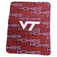 Virginia Tech Classic Fleece Throw