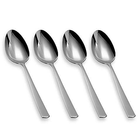 wmf bistro teaspoons set of 4 bed bath beyond. Black Bedroom Furniture Sets. Home Design Ideas