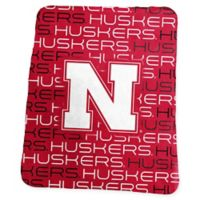 University of Nebraska Classic Fleece Throw