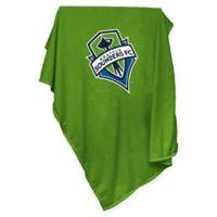 MLS Seattle Sounders FC Sweatshirt Throw Blanket