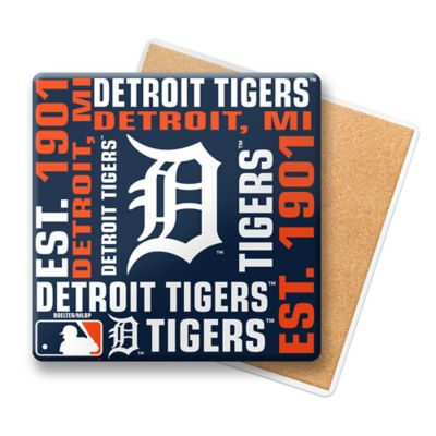 MLB Detroit Tigers Coasters (Set Of 6)