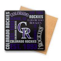 MLB Colorado Rockies Coasters (Set of 6)