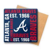 MLB Atlanta Braves Coasters Set Of 6