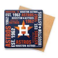 MLB Houston Astros Coasters (Set of 6)