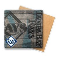 MLB Tampa Bay Rays Wooden Coasters (Set of 6)