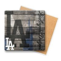 MLB Los Angeles Dodgers Wooden Coasters (Set of 6)