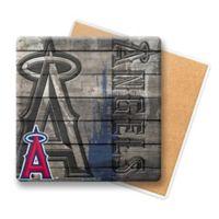 MLB Los Angeles Angels Wooden Coasters (Set of 6)