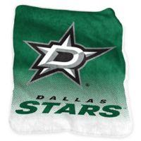 NHL Dallas Stars Raschel Throw Blanket