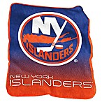 NHL New York Islanders Raschel Throw Blanket