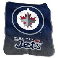 NHL Winnipeg Jets Raschel Throw Blanket