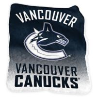 NHL Vancouver Canucks Raschel Throw Blanket
