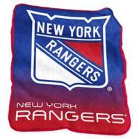 NHL New York Rangers Raschel Throw Blanket