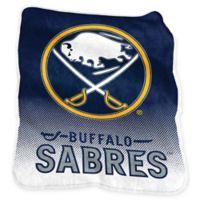 NHL Buffalo Sabres Raschel Throw Blanket