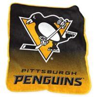 NHL Pittsburgh Penguins Raschel Throw Blanket
