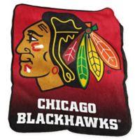 NHL Chicago Blackhawks Raschel Throw Blanket