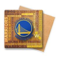 NBA Golden State Wooden Coasters (Set of 6)