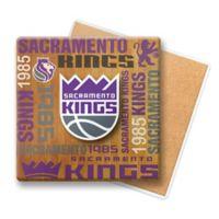 NBA Sacramento Kings Wooden Coasters (Set of 6)