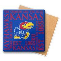 University of Kansas Ceramic Coasters (Set of 6)
