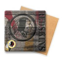 NFL Washington Redskins Wooden Coasters (Set of 6)