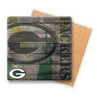 NFL Green Bay Packers Wooden Coasters (Set of 6)