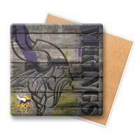 NFL Minnesota Vikings Wooden Coasters (Set of 6)