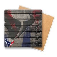 NFL Houston Texans Wooden Coasters (Set of 6)