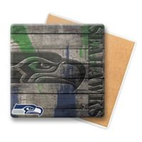 NFL Seattle Seahawks Wooden Coasters (Set of 6)