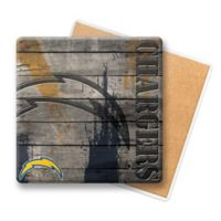 NFL Los Angeles Chargers Wooden Coasters (Set of 6)