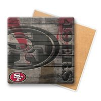 NFL San Francisco 49ers Wooden Coasters (Set of 6)