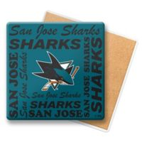 NHL San Jose Sharks Coasters (Set of 6)