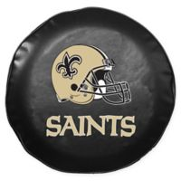 NFL New Orleans Saints Large Team Helmet Tire Cover