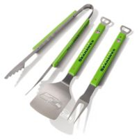 NFL Seattle Seahawks Spirit Series 3-Piece BBQ Set