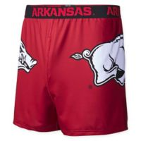 University of Arkansas Large Center Seam Boxer
