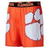 Clemson University Large Center Seam Boxer