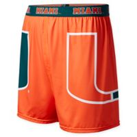 University of Miami Medium Center Seam Boxer