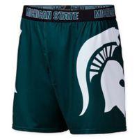 Michigan State University Medium Center Seam Boxer