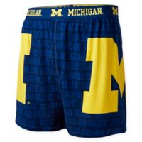 University of Michigan Medium Center Seam Boxer